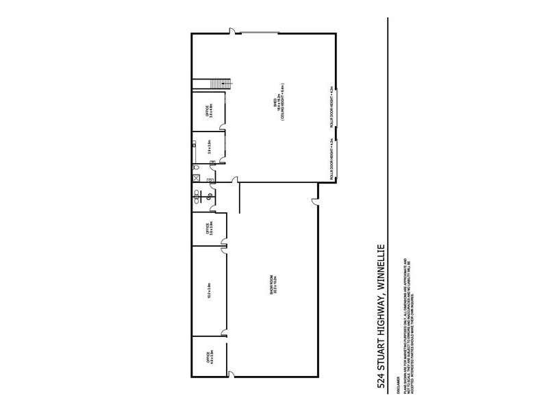 524 Stuart Highway Winnellie NT 0820 - Floor Plan 1