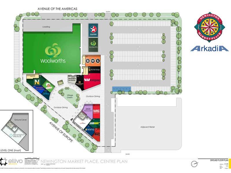 Newington Market Place, 6 Avenue of Europe Newington NSW 2127 - Floor Plan 1