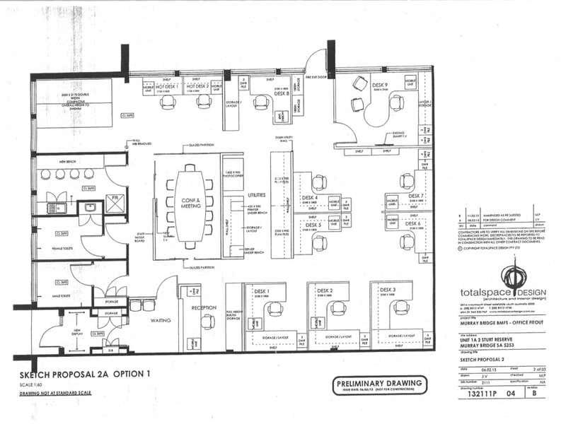 1A/2 Sturt Reserve Road Murray Bridge SA 5253 - Floor Plan 1
