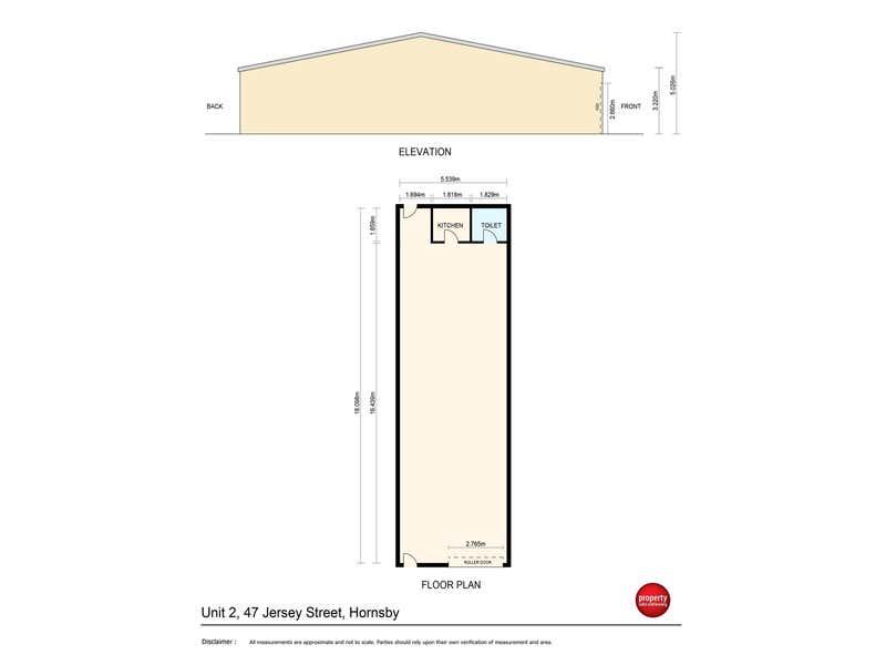 Unit 2, 47 Jersey Street Hornsby NSW 2077 - Floor Plan 1