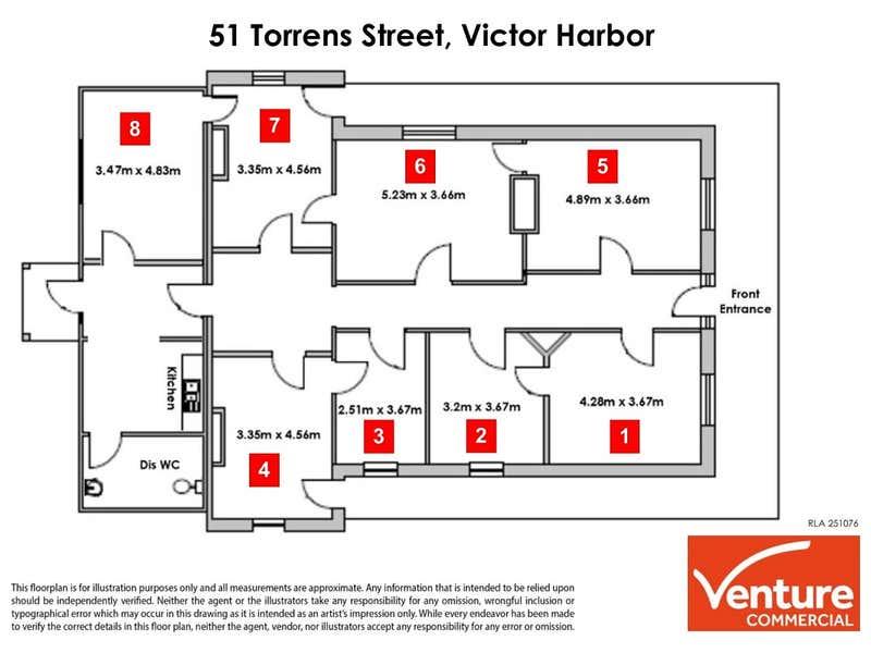 Weymouth House, 51 Torrens Street Victor Harbor SA 5211 - Floor Plan 1
