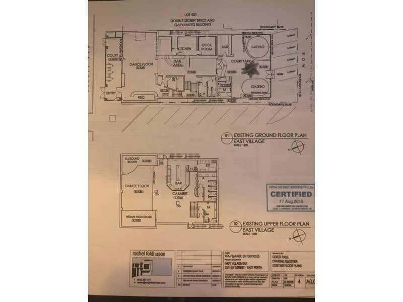 237 Hay Street East Perth WA 6004 - Floor Plan 1