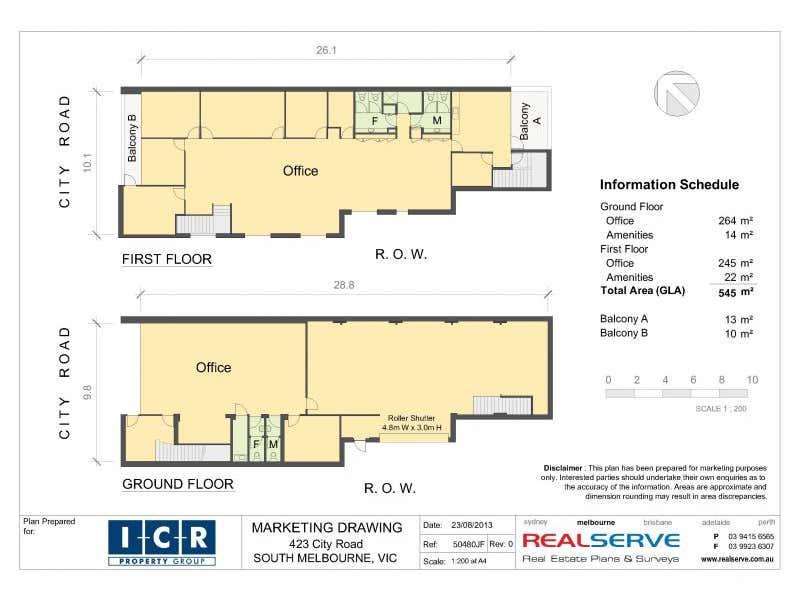 423 City  Road South Melbourne VIC 3205 - Floor Plan 1