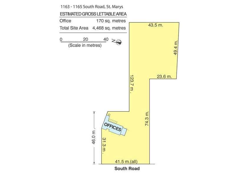 1163-1165 South Road St Marys SA 5042 - Floor Plan 1