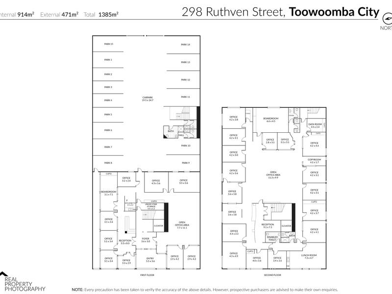 298 Ruthven Street Toowoomba City QLD 4350 - Floor Plan 1