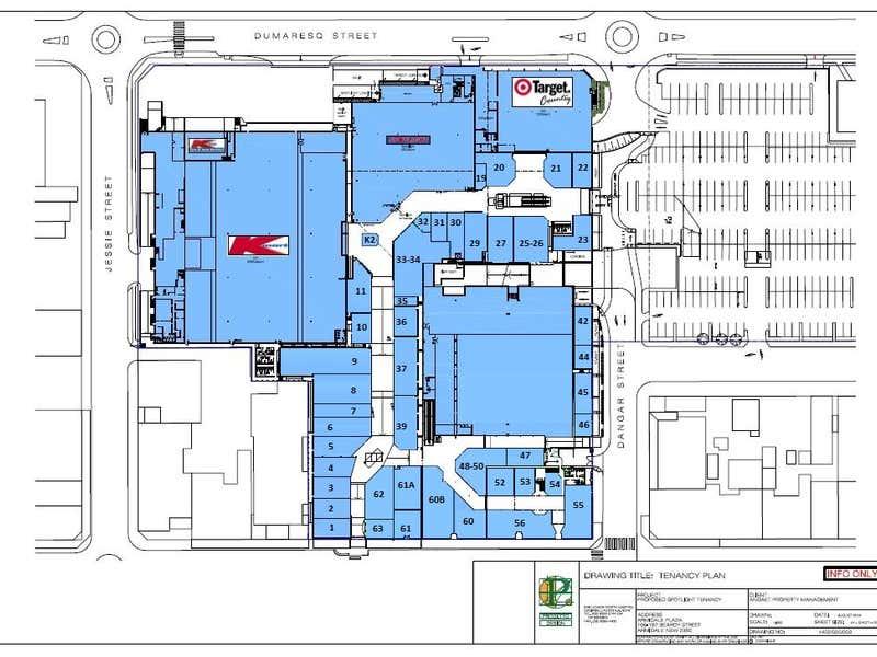 Armidale Plaza, Shop 4, 195-197 Beardy Street Armidale NSW 2350 - Floor Plan 1
