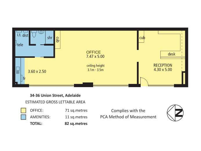34-36 Union Street Adelaide SA 5000 - Floor Plan 1