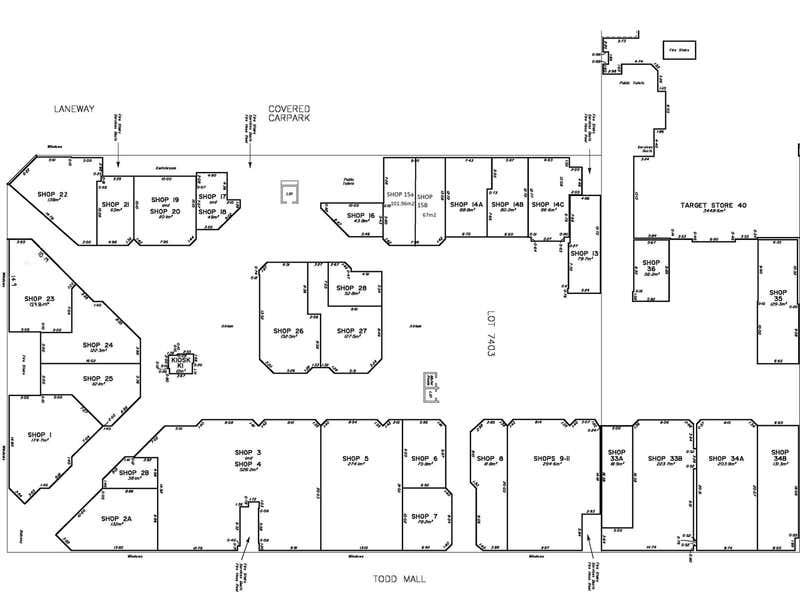 Shop 22/ Alice Plaza Alice Springs NT 0870 - Floor Plan 1