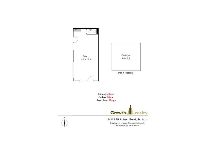 Shop 2/202 Nicholson Road Subiaco WA 6008 - Floor Plan 1