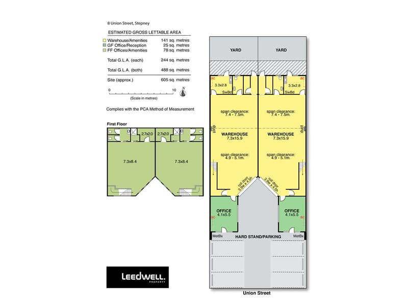 8A Union Street Stepney SA 5069 - Floor Plan 1