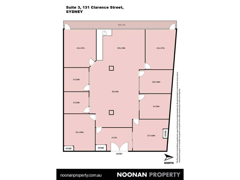 3/131 Clarence Street Sydney NSW 2000 - Floor Plan 2