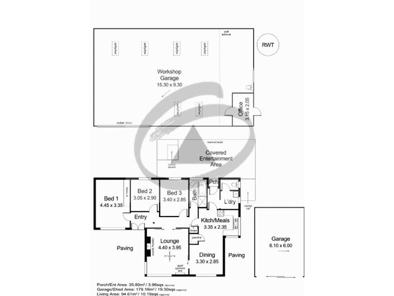 2 Diagonal Road Mount Barker SA 5251 - Floor Plan 1