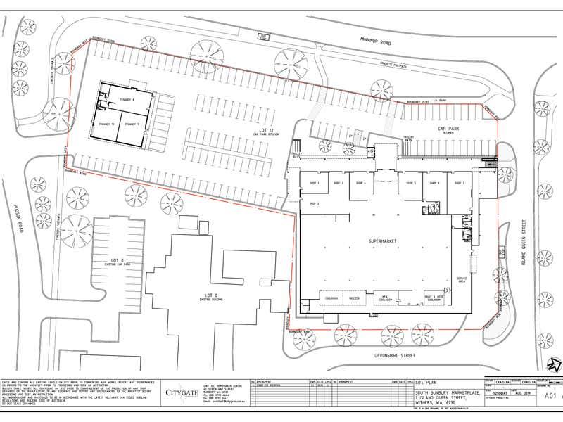South Bunbury Marketplace, 1 Island Queen Street South Bunbury WA 6230 - Floor Plan 1