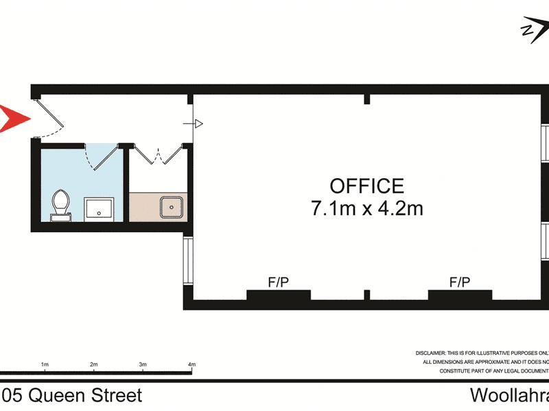 Suite 2, 105 Queen Street Woollahra NSW 2025 - Floor Plan 1