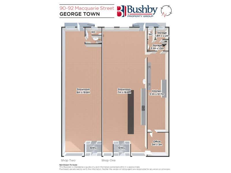 90-92 Macquarie Street George Town TAS 7253 - Floor Plan 1