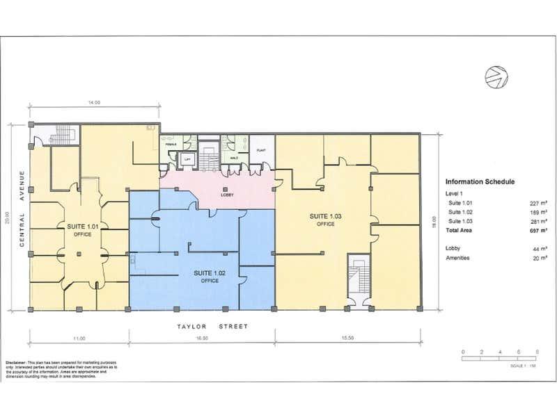 101/1 Taylor Street Moorabbin VIC 3189 - Floor Plan 1