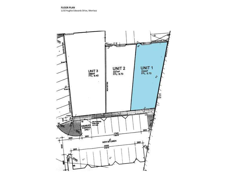 Shop 1, 10 Hughie Edwards Drive Merriwa WA 6030 - Floor Plan 1