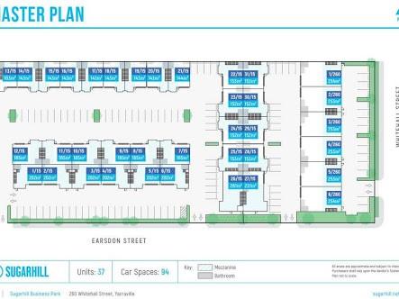 Sugarhill Business Park, 24/15 Earsdon Street Yarraville VIC 3013 - Floor Plan 1