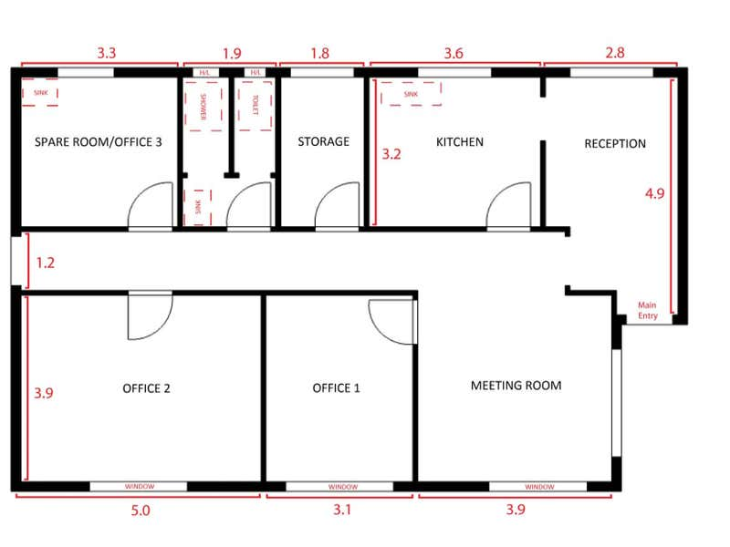 249B Albany Highway Victoria Park WA 6100 - Floor Plan 1