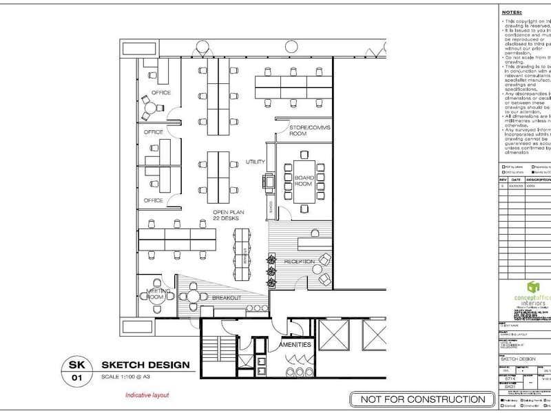136 Exhibition Street Melbourne VIC 3000 - Floor Plan 1