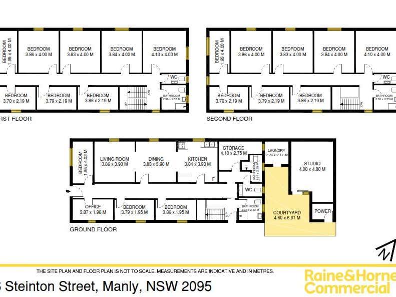 6 Steinton Street Manly NSW 2095 - Floor Plan 1