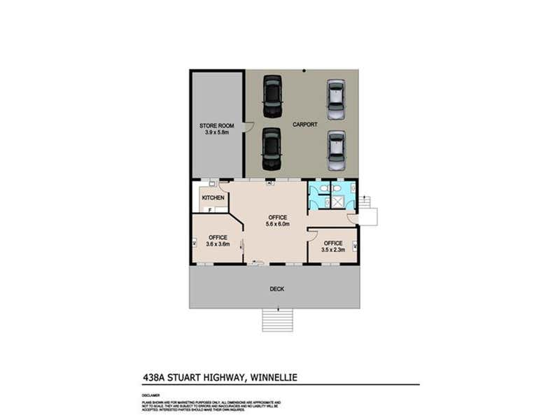 438A Stuart Highway Winnellie NT 0820 - Floor Plan 1