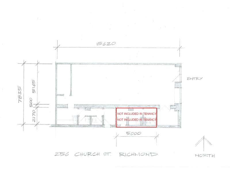 256 Church Street Richmond VIC 3121 - Floor Plan 1