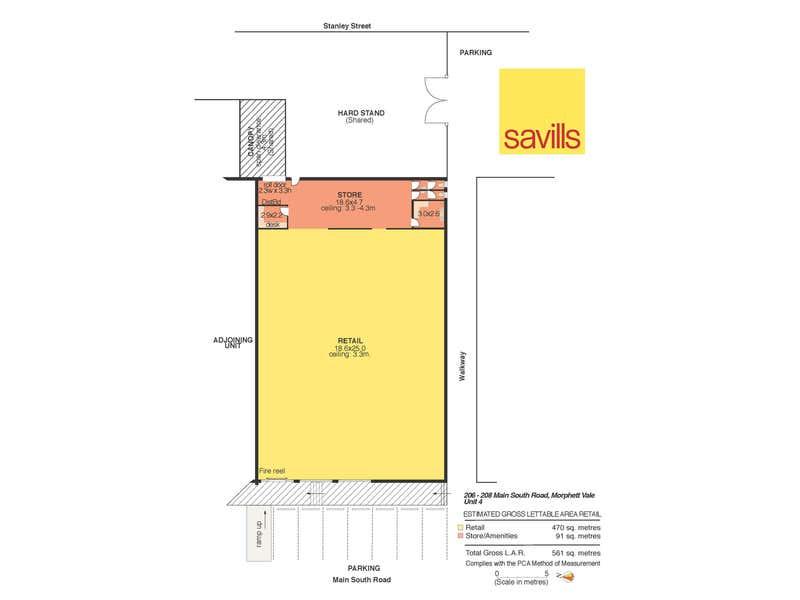 Shop 4, 206-208 Main South Road Morphett Vale SA 5162 - Floor Plan 1