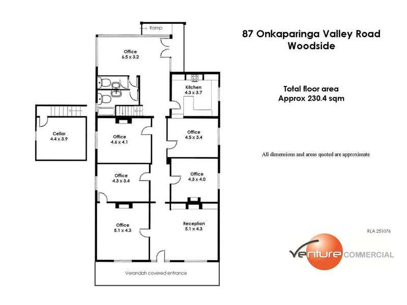 87 Onkaparinga Valley Road Woodside SA 5244 - Floor Plan 1