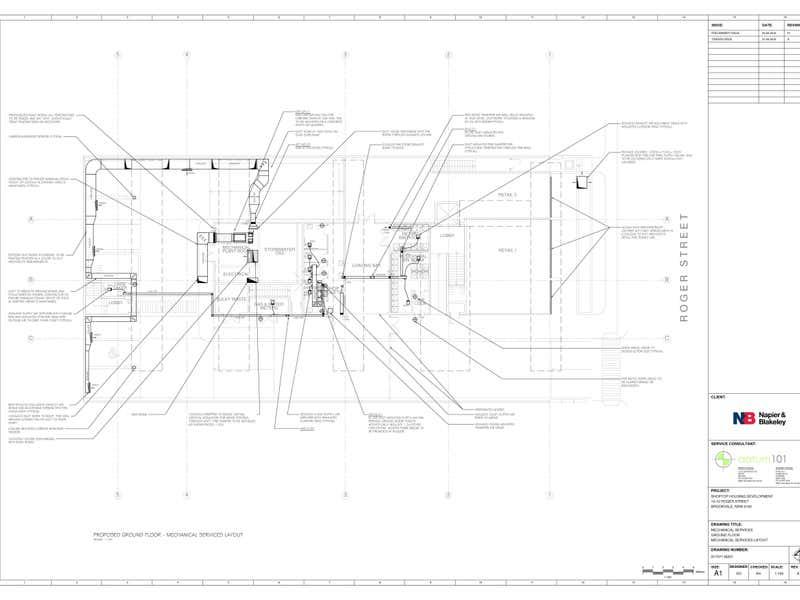 SOLD BY MICHAEL BURGIO 0430 344 700, 1/12 Roger Street Brookvale NSW 2100 - Floor Plan 1