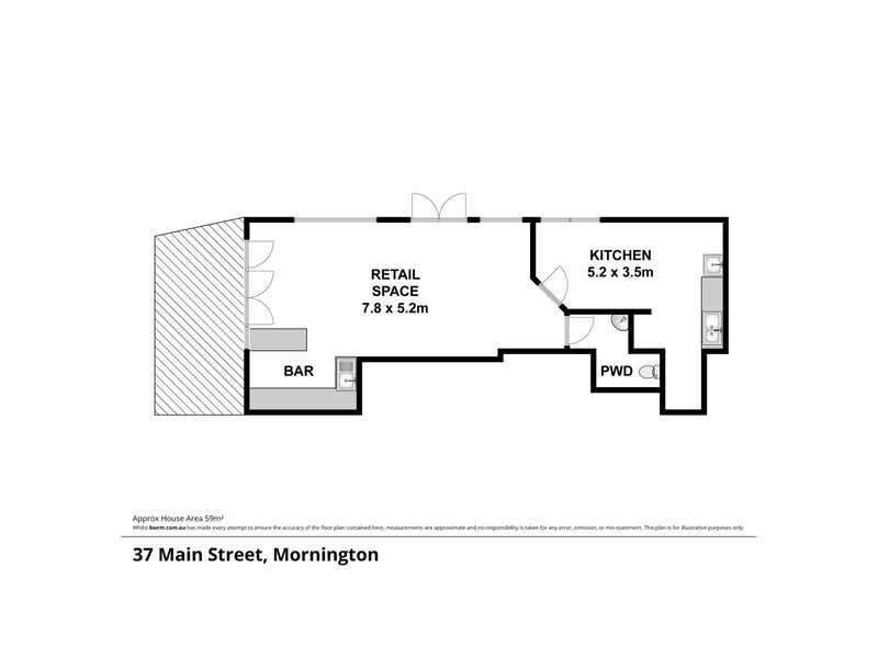 37 Main Street Mornington VIC 3931 - Floor Plan 1