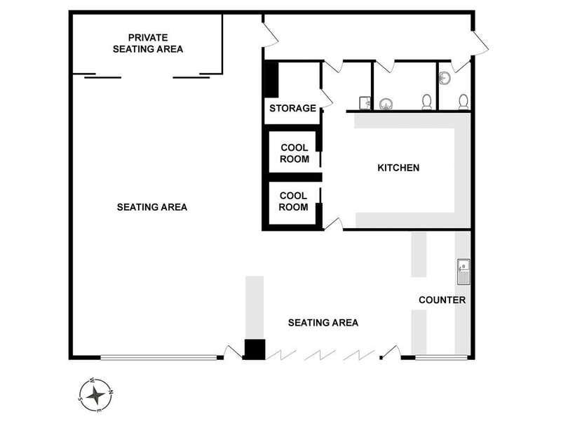 Gr/ 28-30 Fanning Street Southbank VIC 3006 - Floor Plan 1