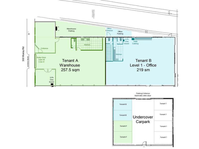 350a Murray Road Preston VIC 3072 - Floor Plan 1