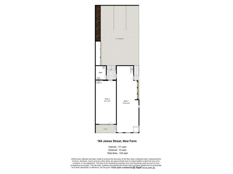 164 James Street New Farm QLD 4005 - Floor Plan 1