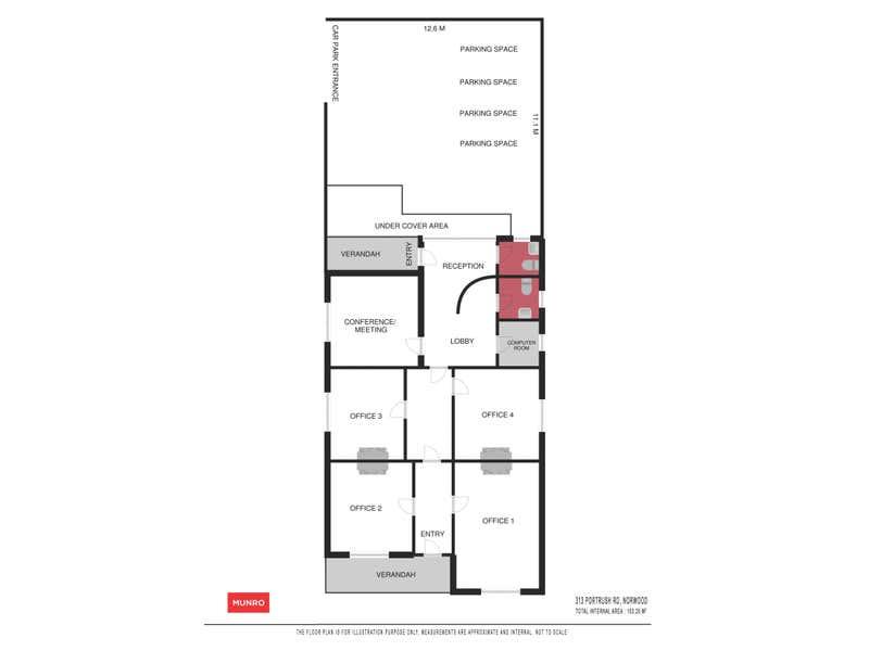313 Portrush Road Norwood SA 5067 - Floor Plan 1