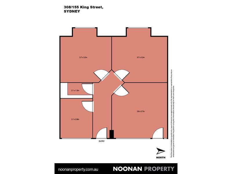 The Trust Building, 308/155 King Street Sydney NSW 2000 - Floor Plan 2