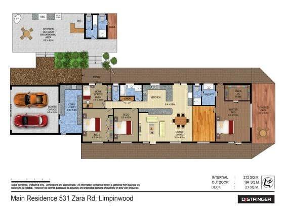 531 Zara Road Chillingham NSW 2484 - Floor Plan 2