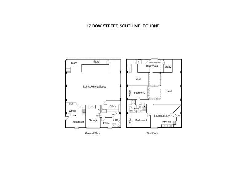 17 Dow Street South Melbourne VIC 3205 - Floor Plan 1