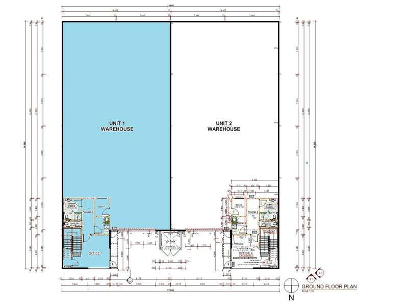 Unit 1, 23 Blackly Row Cockburn Central WA 6164 - Floor Plan 2