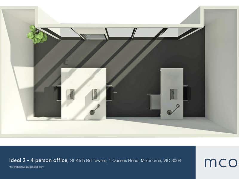 St Kilda Rd Towers, 1 Queens Road Melbourne VIC 3004 - Floor Plan 2
