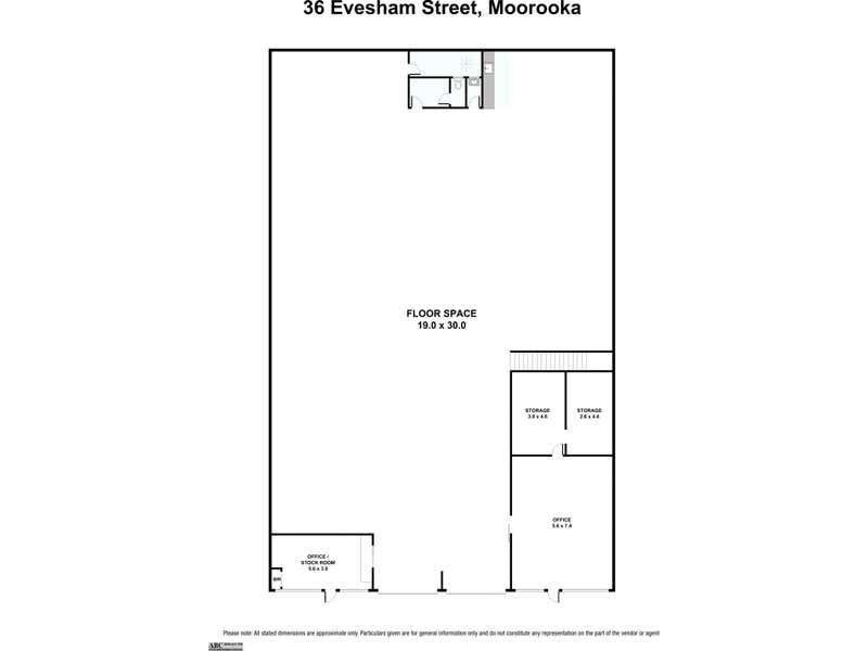 36 Evesham Street Moorooka QLD 4105 - Floor Plan 1