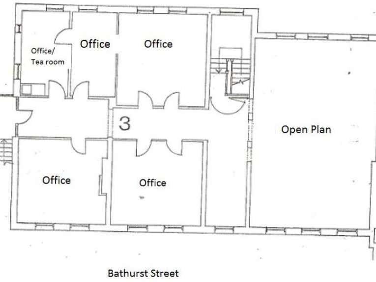 3/21 Bathurst Street Hobart TAS 7000 - Floor Plan 1