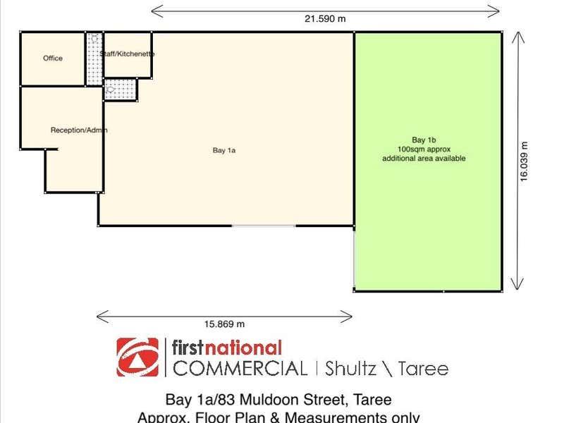 1/83 Muldoon Street Taree NSW 2430 - Floor Plan 1