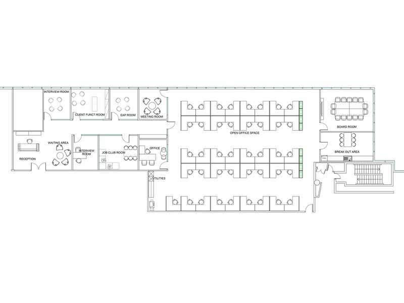 Part Level 2, 40 Cameron Avenue Belconnen ACT 2617 - Floor Plan 1