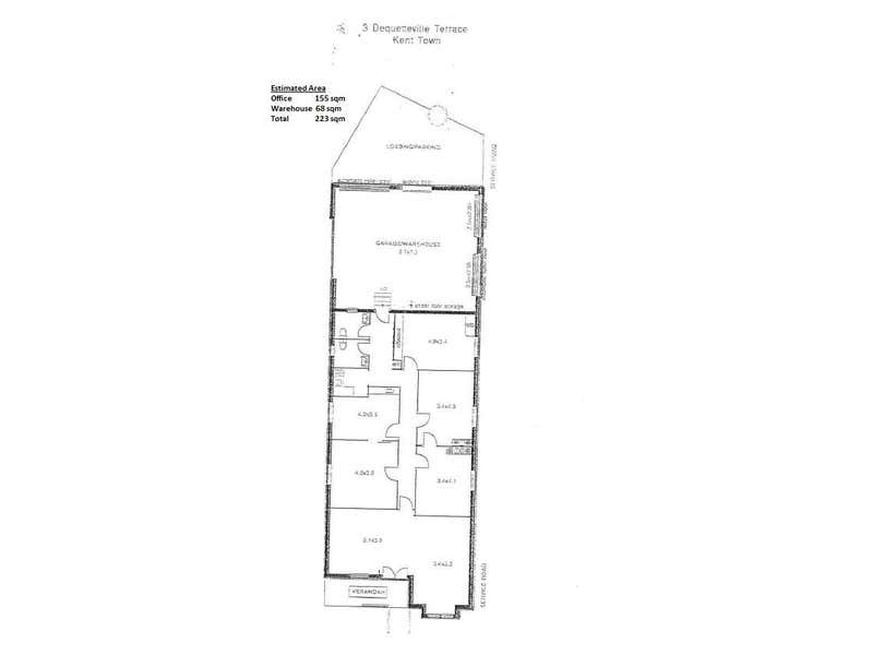 3 Dequetteville Terrace Kent Town SA 5067 - Floor Plan 1