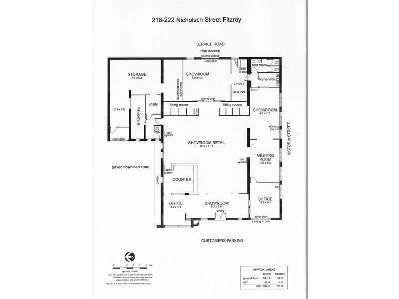 218-222 Nicholson Street Fitzroy VIC 3065 - Floor Plan 1