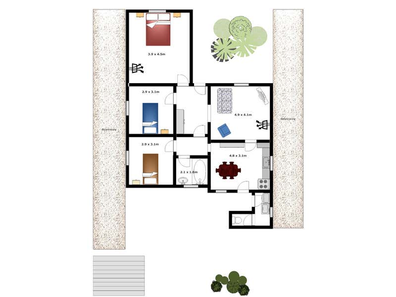 83 Mortlock Terrace Port Lincoln SA 5606 - Floor Plan 1