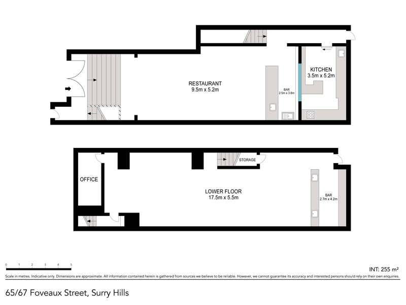 Level Ground & B, 65-67 Foveaux Street Surry Hills NSW 2010 - Floor Plan 1