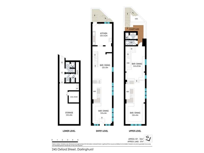 245 Oxford Street Darlinghurst NSW 2010 - Floor Plan 1
