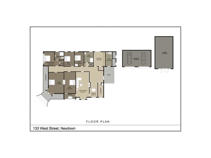 133 West Street Newtown QLD 4350 - Floor Plan 1